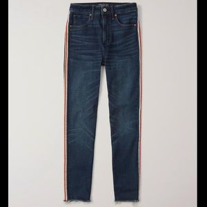 Abercrombie&Fitch Striped Jeans
